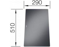 Deska Blanco szkło, do Statura 6-u czarny