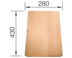 Deska Blanco drewniana, do Subline 350/150U i Subline 500U ceramika