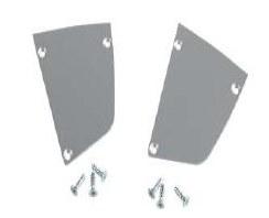 Zestaw zaślepek do SlimLite-Profile anodowane aluminium