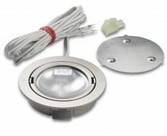 Płaska oprawa halogenowa ARF 68 20W aluminium