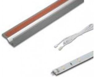 LED Profil do szklanych półek 2,0W 760(750)mm zestaw