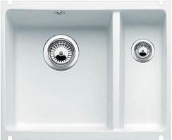 Zlewozmywak Blanco SUBLINE 350/150-U biały błyszczący bez korka automatycznego