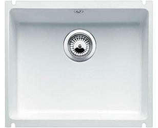 Zlewozmywak Blanco SUBLINE 500-U biały połysk bez korka automatycznego