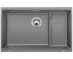 Zlewozmywak granitowy Blanco Subline 700-U Level Silgranit® PuraDur® II z akcesoriami
