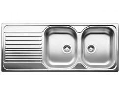 Zlewozmywak stalowy Blanco Tipo 8S