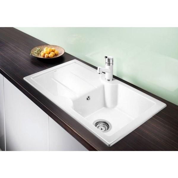 Zlewozmywak ceramiczny Blanco Idessa 45S Keramik PuraPlus® Prawy # Blanco Wasbak_012503