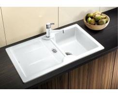 Zlewozmywak ceramiczny Blanco Idessa 5-S Keramik PuraPlus® Prawy