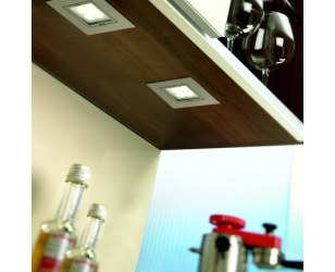 2 x Hera ARF-Q LED 4W zestaw oświetlenia punktowego Power LED