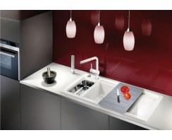 Zlewozmywak ceramiczny Blanco Axon II 6S Keramik PuraPlus® Lewy