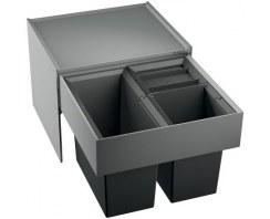 Kuchenny selektor odpadów Blanco Select 50/3 do zabudowy