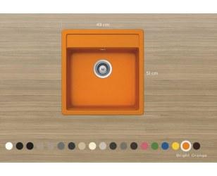 Zlewozmywak granitowy Schock Nemo N-100S Cristalite Plus®