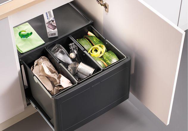 Kuchenne sortowniki odpadów - większy komfort i funkcjonalność w kuchni